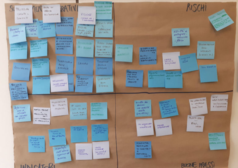 Riflessioni e risultati dei primi due Tavoli di progettazione partecipata.
